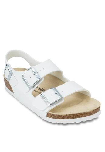 Milazalora 包包 pttno 扣環繞踝平底涼鞋, 女鞋, 涼鞋及拖鞋