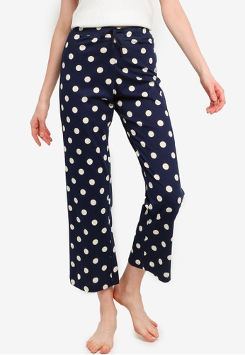 threads by the produce blue Loungewear Graphic Pants B29B7AA5B9A281GS_1
