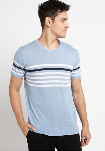 Giordano blue Men's Knitwear 83141AAD43ECEAGS_1