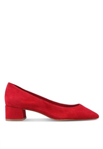 Mango red Heel Leather Heels 53FE4SH7BEEBC3GS_1