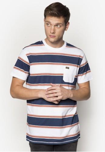 Zero 條紋口袋TEE、 服飾、 服飾BillabongZero條紋口袋TEE最新折價