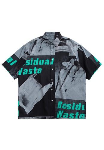 Twenty Eight Shoes Stylish Printed Shirt  2028S20 A58FDAA70BC6AFGS_1