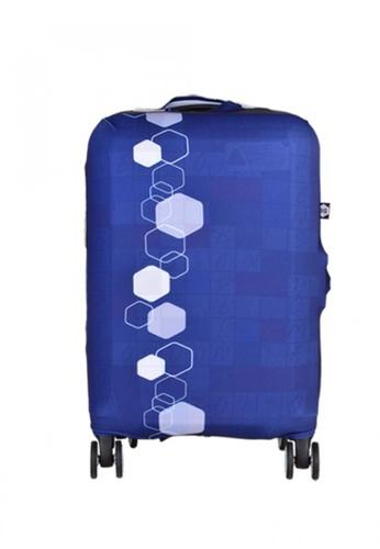 BG Berlin blue 007 Luggage Cover Small 8B667AC329E4DEGS_1