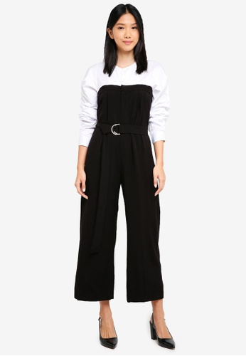Haute Kelly black Ae-Jung Jumpsuit E8289AA63BF639GS_1