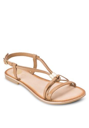 Calanque T 字帶涼鞋, 女鞋, esprit outlet 香港鞋