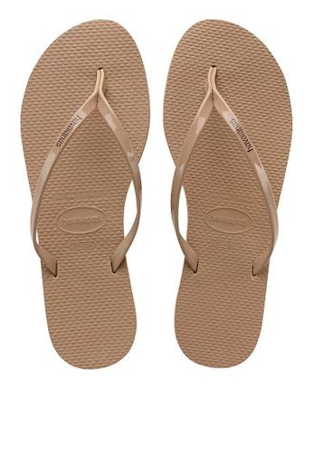 d7c399b571c4 Shop Havaianas You Metallic Flip Flops Online on ZALORA Philippines