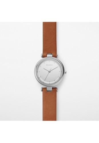 Skagenesprit 品牌 T-BAR女錶 SKW2458, 錶類, 淑女錶