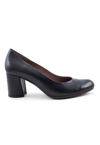 Shu Talk black Best Seller Comfy Classic Leather Heel Pumps SH397SH0GA2CSG_1