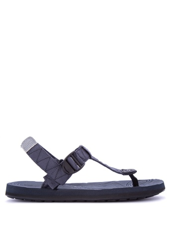 Krooberg navy Radial Duo Sandals B7C8BSHB96EA79GS_1