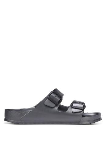Birkenstock silver Arizona EVA Sandals BI090SH0RCNTMY_1