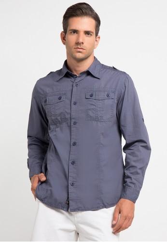 Bombboogie blue Javelin Shirt BO419AA0V70ZID_1