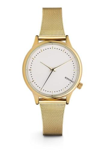 KOMONO gold Estelle Royale Royale Gold-White Watch KO163AC0T0TFMY_1