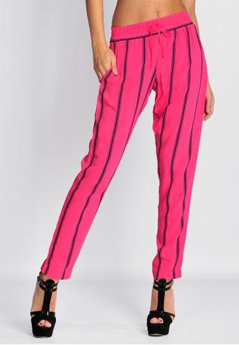 SJO & SIMPAPLY SJO's Geneu Pink Stripe Women's Pants