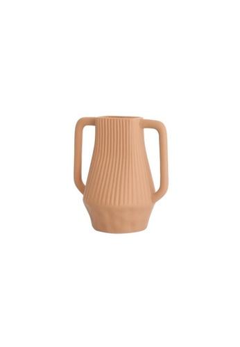DILAS HOME Mid-century Pottery Art Vase (Brown) EB937HL1DDF7B9GS_1