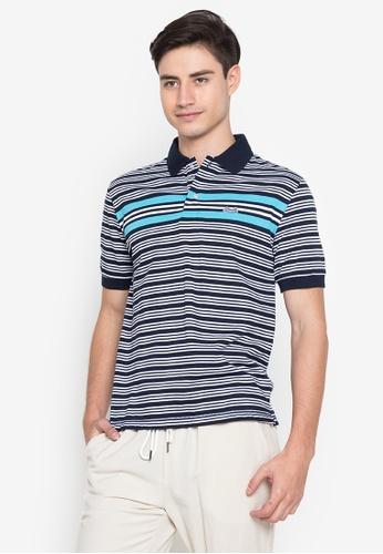 Le Tigre navy Men's Classic Polo Shirt 0267BAA1AB4E0DGS_1