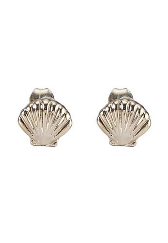 Rubi gold Premium Stud Earrings 325FEAC5B10AC5GS_1