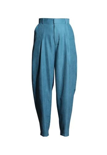 Vivi Zubedi blue Cordoray Baggy Pants 787E3AA390F16BGS_1