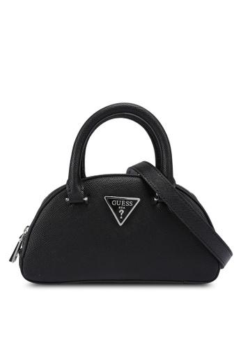Guess black Cordelia Mini Top Handle Bag 3FC73AC20DCB57GS_1