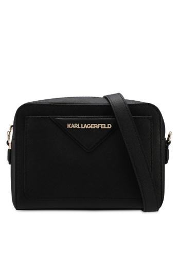 KARL LAGERFELD black k/klassik camera bag KA533AC0SDAKMY_1