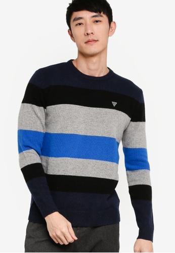 Long Sleeve Crew Neck Alaska Sweater
