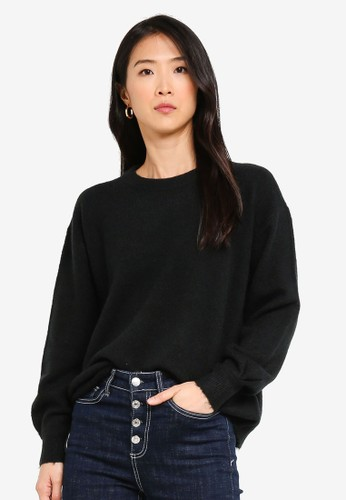 Vero Moda black Philine O-neck Sweater 13797AA092ED1EGS_1