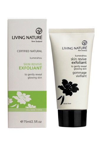 Living Nature black and white Skin Revive Exfoliant LI761BE49MBEMY_1