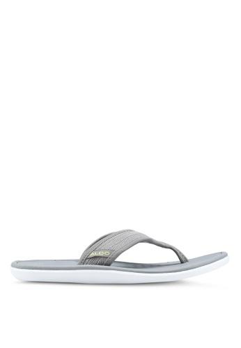 ALDO grey Nydeliviel Flip-Flops EEFA6SH04B60FDGS_1