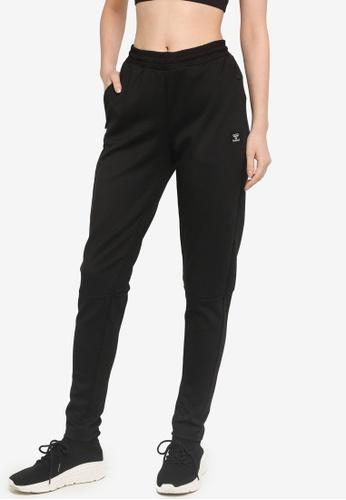 Hummel black Essi Tapered Pants 346E2AAB6F4D97GS_1