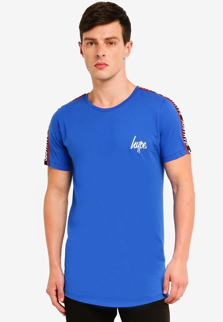 Blue Shirt Just Tape Hype T Taylor qTZxXw