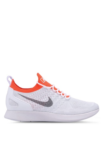 b0898f22b106c Nike grey Air Zoom Mariah Flyknit Racer Shoes 48A4ASHDEDE0A7GS 1