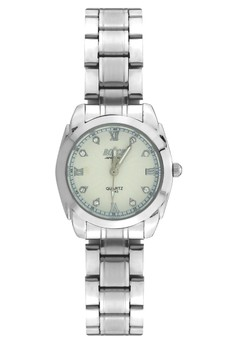 Bosck Women's Round Dial Stainless Steel Wrist Watch 5143