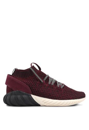 adidas red adidas originals tubular doom sock pk AD372SH0SUOTMY_1