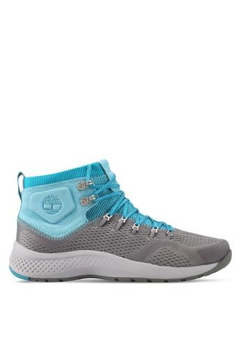 Timberland grey Flyroam Trail Mid Fabric Shoes A6690SHD971F91GS_1