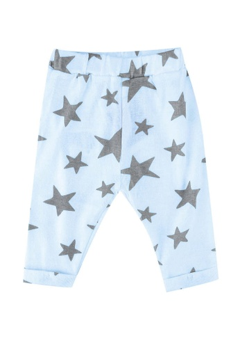 FOX Kids & Baby blue New Born Pants D84EFKA99EBA52GS_1