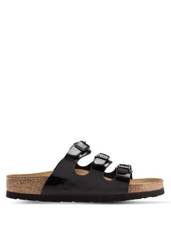 Birkenstock black Florida Sandals BI090SH40CRZMY_1