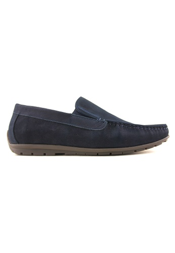 Rad Russel blue Rad Russel Casual Slip On RA654SH67DEQSG_1