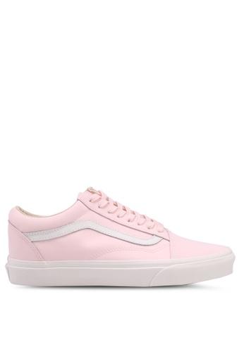 VANS pink Old Skool Vansbuck Sneakers 0FD82SH647CF21GS_1