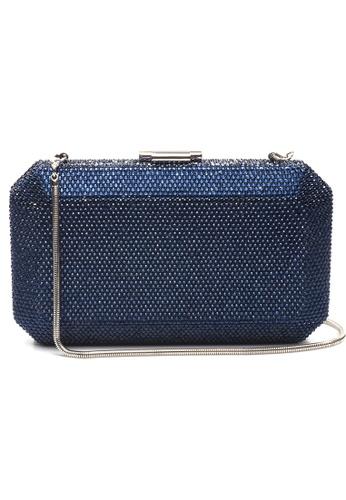 The Chic Initiative blue Veralyn Crystal Clutch (Midnight Blue) 96857AC6B41170GS_1