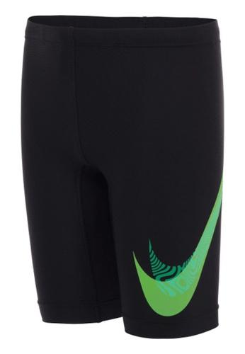 Nike black Nike Swim Boy's Liquify Swoosh Jammer 63FDEUSDD3D54BGS_1