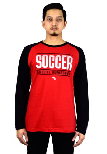 Antioni red ANTIONI Men Round Neck Tee L/S (MD. RED) 2F793AA2FF7505GS_1