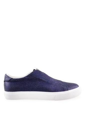 Footspot blue UCLA - Slip-on Sneakers 32A5CSHB4D8763GS_1