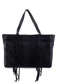 Tassel Side Tote Bag