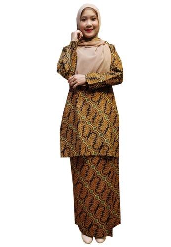 Hijrah Couture brown MOOD ON BATEK 04 3E58CAA1715A6CGS_1
