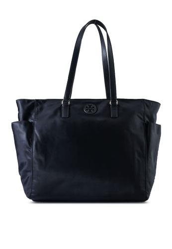TORY BURCH black Nylon Travel Diaper Bag (NT) 32FE8AC3CB8867GS_1