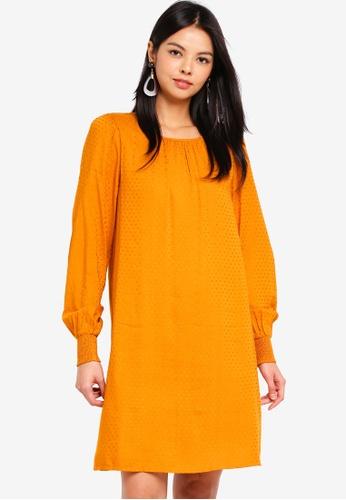 Vero Moda orange Vooli Short Dress 0AE2EAA902CD2DGS_1