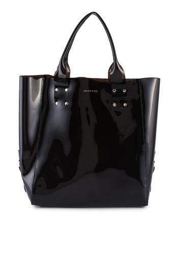 Milliot & Co. black Jenny Totes Bags 253E7AC4175CEEGS_1