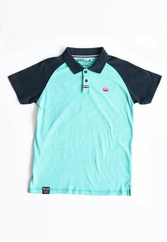 Osella Kids blue Osella Baju Anak Laki Laki Polo Shirt Blue 119C7KA07C9ADFGS_1