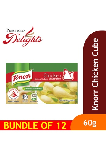 Prestigio Delights Knorr Chicken Cube 60g Bundle of 12 84AC4ES31A96FAGS_1