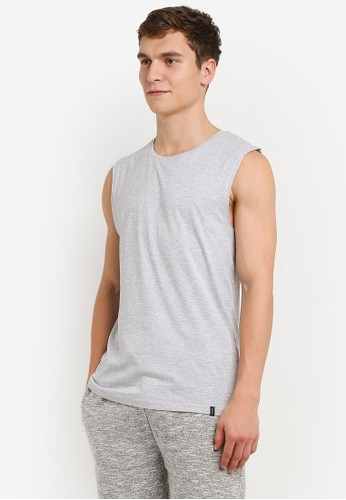 Factorie grey Legacy Muscle T-Shirt FA113AA0URU4ID_1