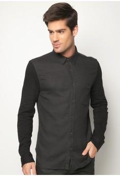 Knit Sleeve Shirt